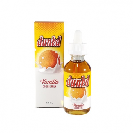 Dunkd - Vanilla Cookie Milk 60ml Alloy Blends - Svapo Shop
