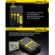 Chargeur New I4 Intellicharger Nitecore - Svapo Shop
