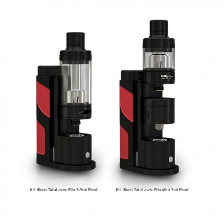 Kit iKonn Total avec Ello Mini XL 5.5 ml Eleaf - Svapo Shop