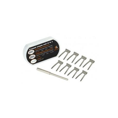 Résistances Framed Staple Coil 2 in 1 Geekvape - Svapo Shop