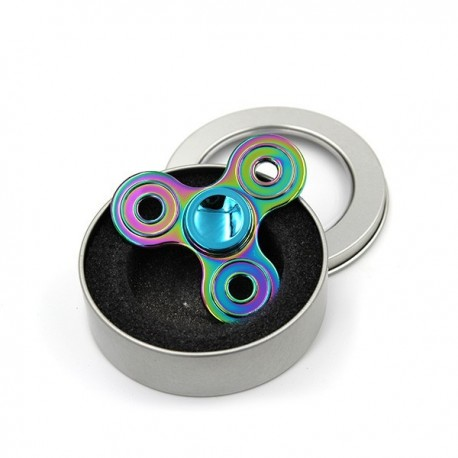 Hand Spinner 3 branches rondes rainbow - Svapo Shop