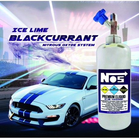 Number 5 - Ice Lime / Blackcurrant 50ML - Svapo Shop