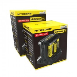 Chargeur intelligent i8 EU edition - Nitecore - Svapo Shop
