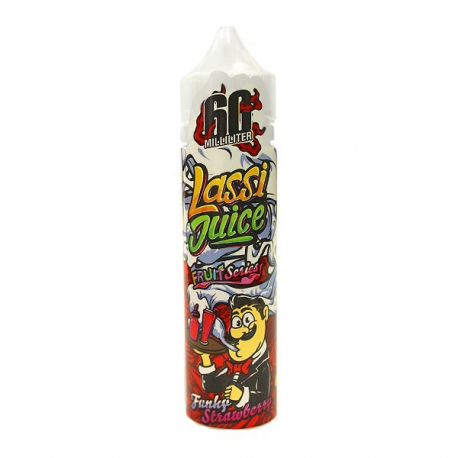 Funky Strawberry 60ml Lassi Juice - Svapo Shop