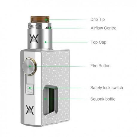 Kit Box Athena Squonk Geekvape - Svapo Shop