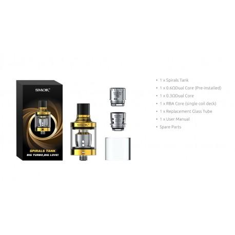 CLEAROMISEUR - SPIRALS - SMOK - SVAPO SHOP