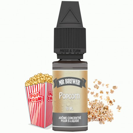 Arôme Concentré Popcorn 10ml - Mr Brewer