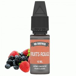 Arôme Concentré Fruits Rouges 10ml - Mr Brewer