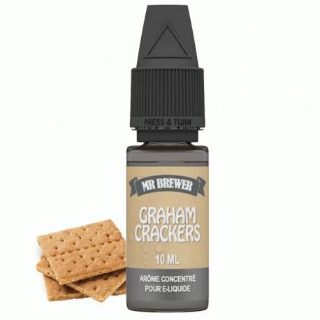 Arôme Concentré Graham Crackers 10ml - Mr Brewer