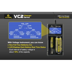 Chargeur VC2 Xtar Light