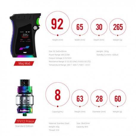 Kit Mag avec TFV12 Prince 8ml Smok - Svapo Shop