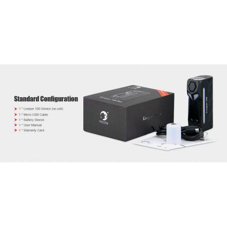 Box Mod Livepor 100W - Yosta - Svapo Shop