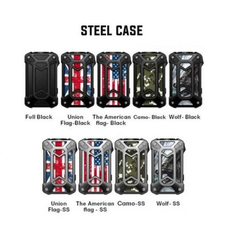 Box Mechman 228w Rincoe (Steel Case version) - Svapo Shop