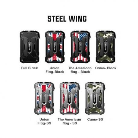 Box Mechman 228w Rincoe (Steel Wing version) - Svapo Shop
