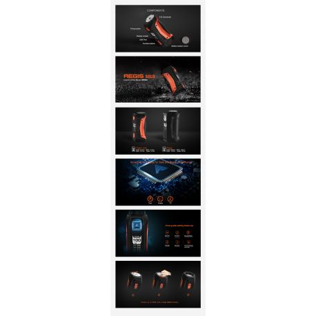 Box Aegis Solo 100W NEW COLORS - Geekvape - Svapo Shop