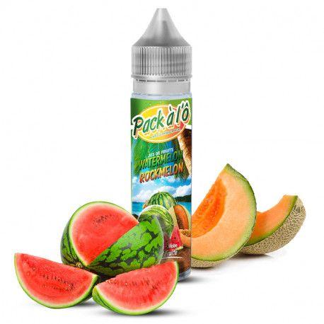 Watermelon Rockmelon V2 0mg 50ml - Pack à l'Ô - Svapo Shop