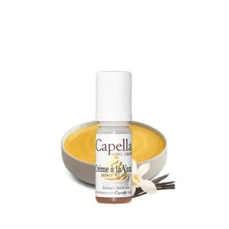 Concentré Vanilla Custard V2 10ml - Capella - Svapo Shop