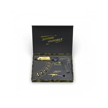 Pack Cold Steel AK47 Limited Edition 24K Gold NP - Artery - Svapo Shop