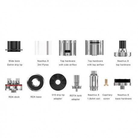 Kit Quad-Flex Survival Aspire - Svapo Shop