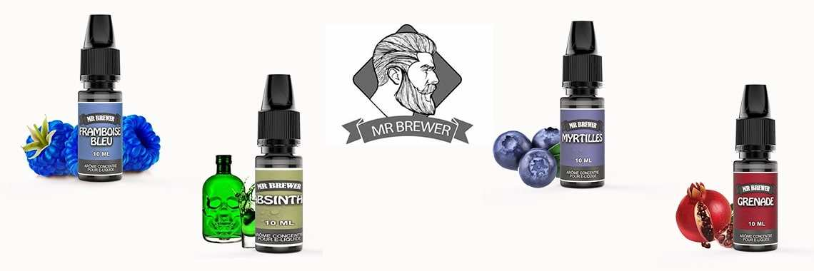 Arômes 10ml Mr Brewer